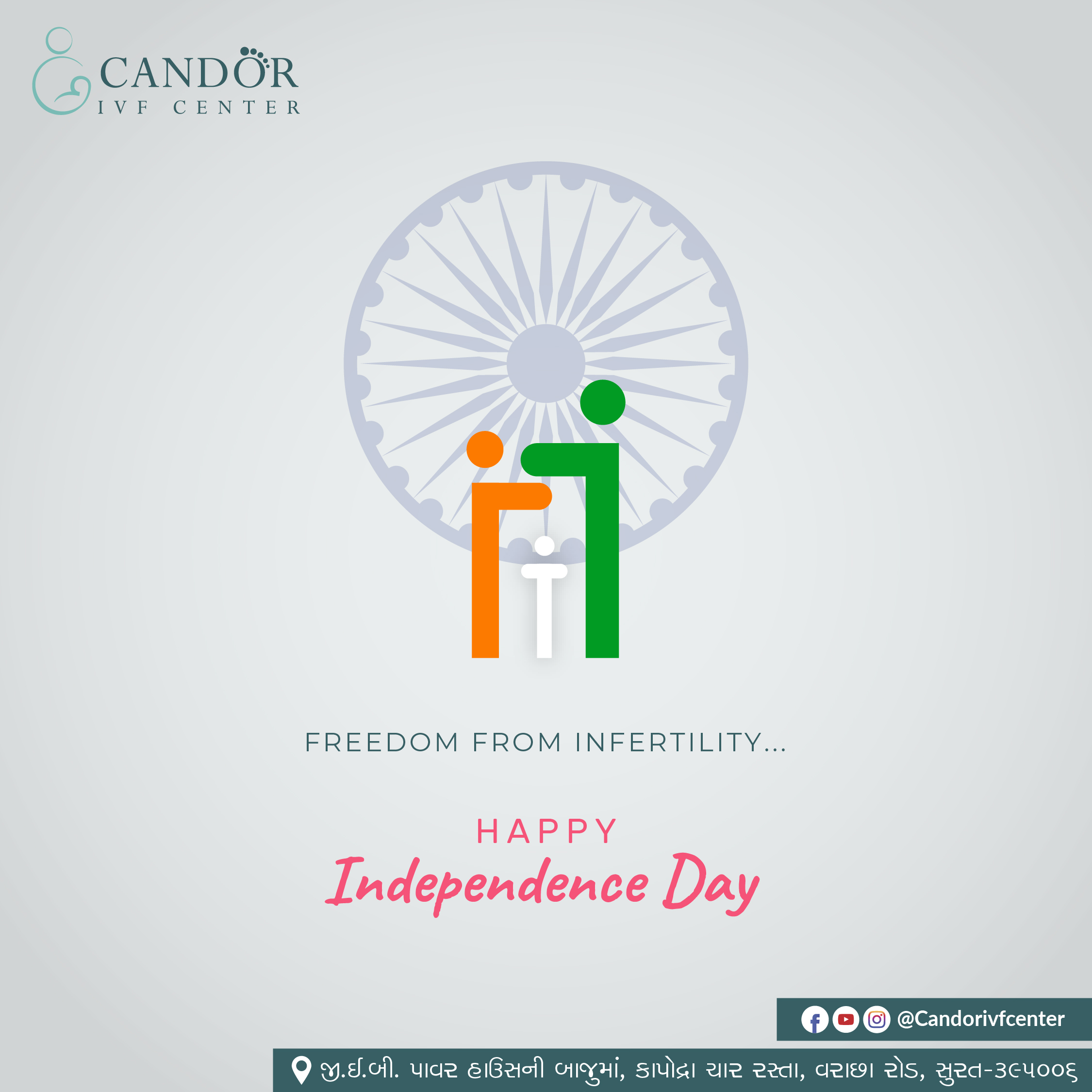 15th_Aug- candor ivf center __Independence_Day