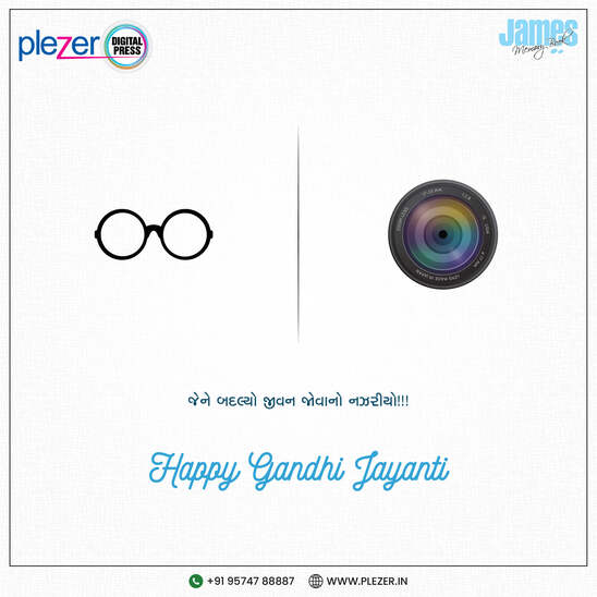 plezer digital press Gandhi Jayanti