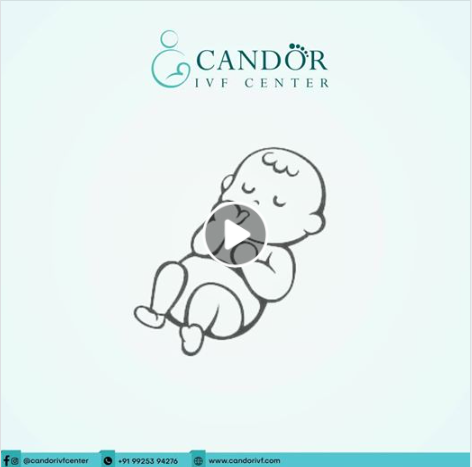 baby crying candor ivf center campaign